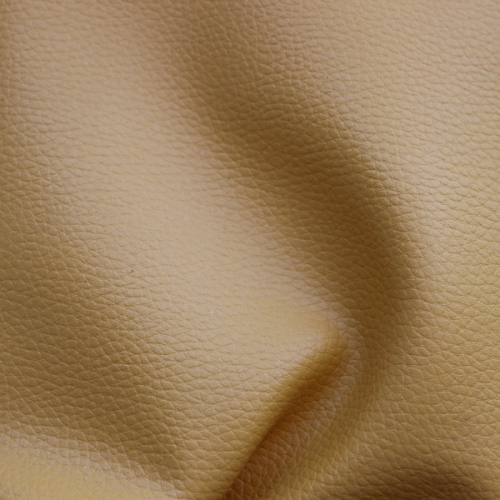 Hot sale litchi pattern velvet fake leather for luggage